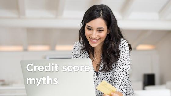 5 Credit Score Myths You Should Laugh At