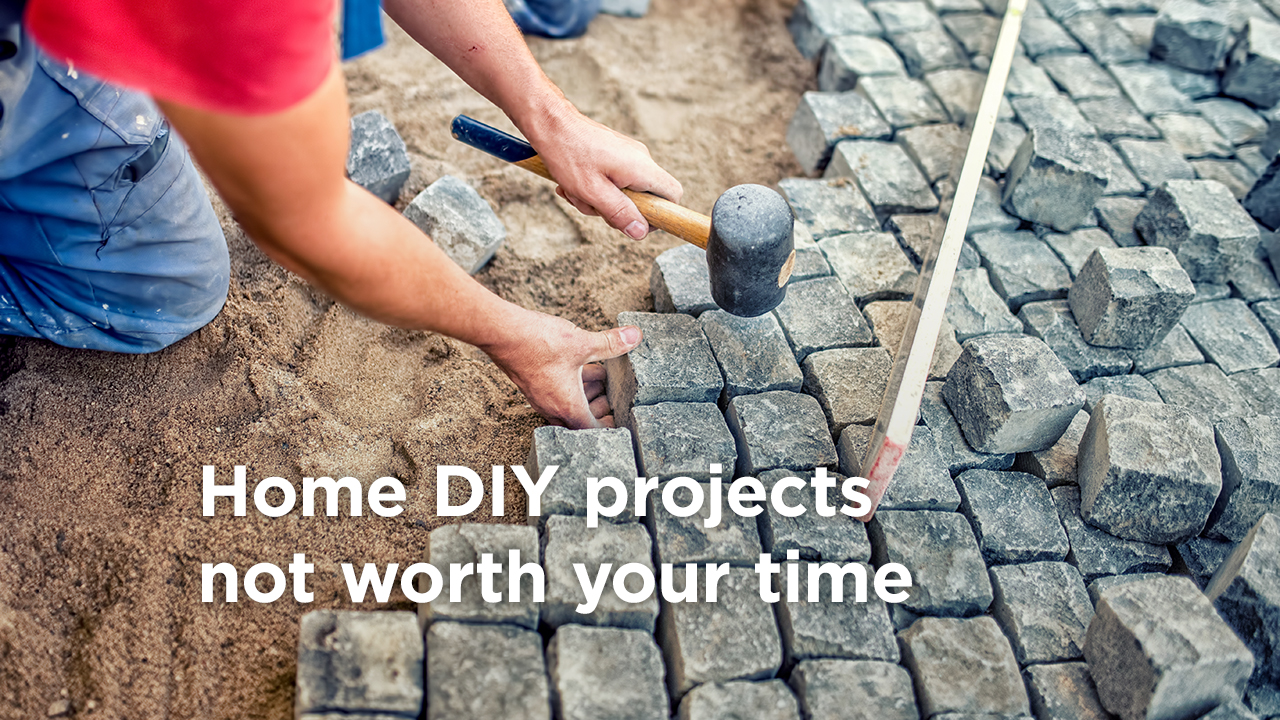 8 DIY Home Improvement Projects Not Worth Your Energy