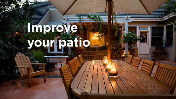 7 Simple DIY Ways to Improve My Patio and Backyard this Summer