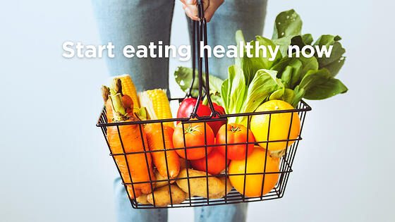 5 Simple Ways to Start Eating Healthy Right Now