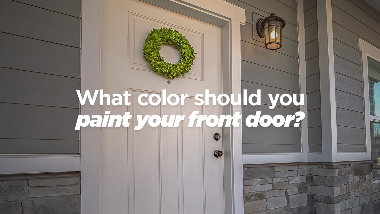 what color should you paint your front door