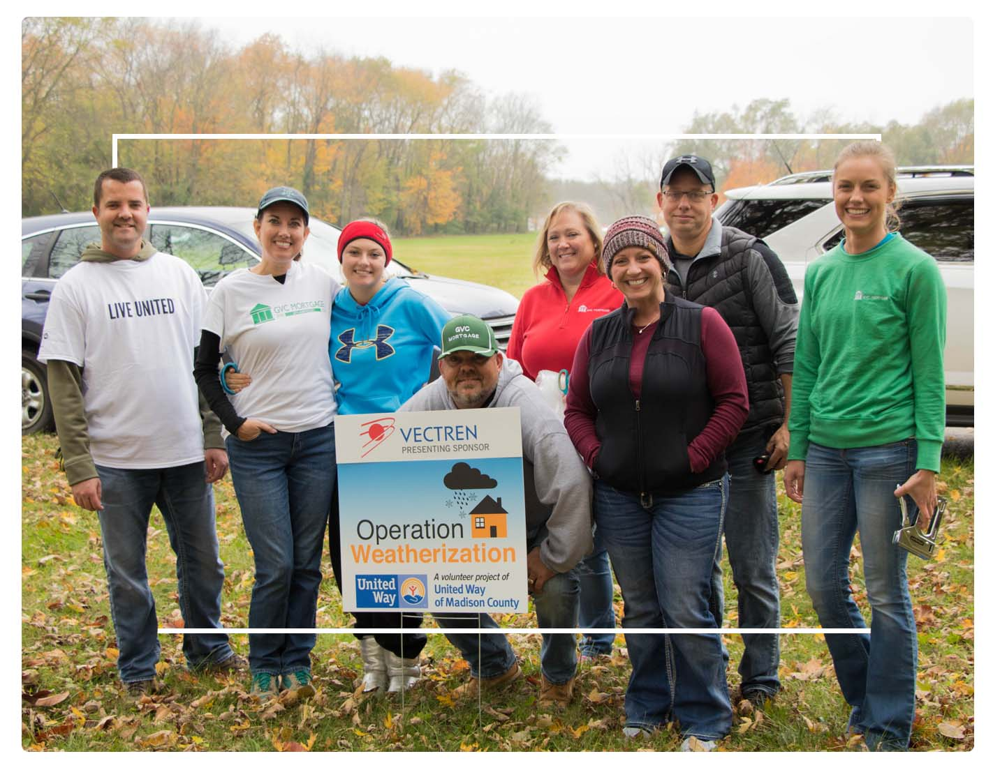 GVC gives back to the communities where we live and serve